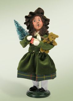 """""""Girl Shopper"""" a product from the Holiday Carolers."""