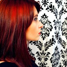 Add some red-hot heat with #AvedaColor.