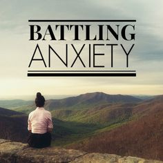 How to conquer anxiety. This is so good!
