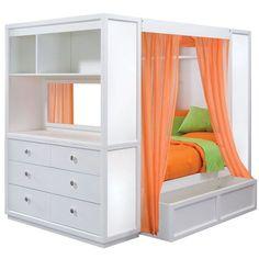 TweenNick The Retreat Full Bed by Lea Children's Furniture Bed Furniture, Home Diy, Home, Home Bedroom, Bed, Kids Bed Furniture, Furniture, Kid Beds, Remodel Bedroom