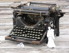 I need a vintage typewriter in better shape.