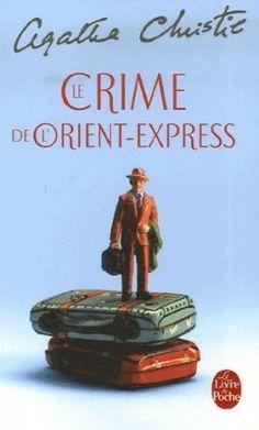 Couverture : Le Crime de l'Orient-Express