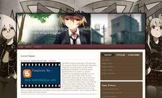 Animepress Blogger Template Blogspot
