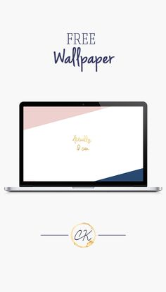 Actually I can, blush pink navy gold foil background wallpaper you can download for free on the blog! For any device; mobile, desktop, iphone, android!