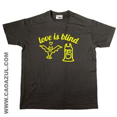 LOVE IS BLIND...BATMAN