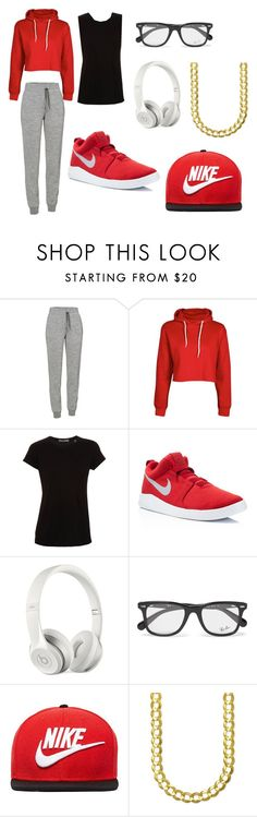 """""""nike swag"""" by tomboiswag on Polyvore featuring Icebreaker, Vince, NIKE, Beats by Dr. Dre and Ray-Ban"""