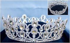 Loire Princess Rhinestone Full Crown