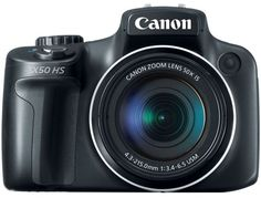 The Best and Highest Optical Zoom Cameras: Canon PowerShot SX50 HS