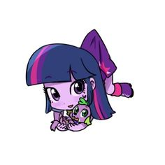 I made a happy version of Twilight Sparkle. I think, soon i will made another characters!