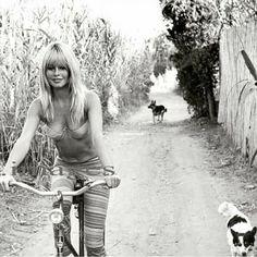 #Repost • @fatos_brigitte Brigitte and her dogs. #brigittebardot #brigitte…