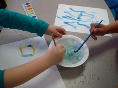 Painting with snow ... and other fun snowy activities! | The SEEDS Network