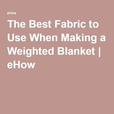 Astounding Sew A Weighted Blanket Ideas. Enchanting Sew A Weighted Blanket Ideas. Easy Sewing Projects, Sewing Hacks, Sewing Tutorials, Sewing Crafts, Sewing Tips, Sewing Ideas, Weighted Blanket Tutorial, Making A Weighted Blanket