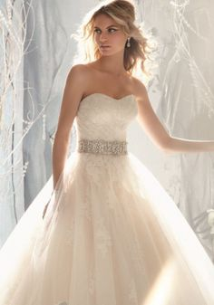 Beautiful wedding dress!!  If I want a ball gown for my wedding dress