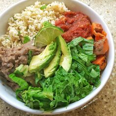 Best Refried Beans And Sliced Avocado Recipe on Pinterest
