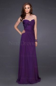 Modest Elastic Woven Satin Sleeveless Backless Sweep Train Ruched Party Dress