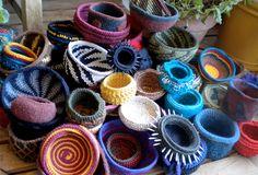 Tapestry Crochet: Wendy Bowls