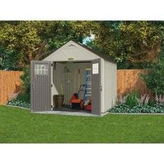 lifetime garden sheds 60001 dual entry storage shed 8 x 10 lifetime storage sheds pinterest storage outdoor storage and tiny houses - Garden Sheds 7 X 3