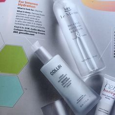 One of my faves just made it into New Beauty Magazine! @gm.collin Marine Collagen Revitalizing Cream is my perfect pick me up to early fall skin that's dull from too much 'too much' over the summer