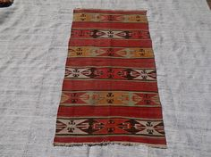 Check out this item in my Etsy shop https://www.etsy.com/listing/507777086/old-small-kilim-rughandwoven-kilim
