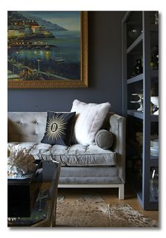 I love this room by @Ashlina Kaposta. Learn how to bring rich elements into your space.