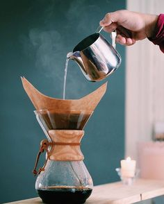 Brewing your own coffee at home