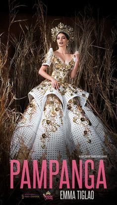 Gala Dresses, Formal Dresses, Dresses Art, Pageant Dresses, Philippines Dress, Philippines Fashion, Modern Filipiniana Gown, Filipiniana Wedding, Fashion Show
