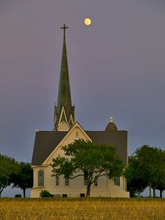 I have a fascination with little white churches or cathedrals.  Would love a road trip to just see these.