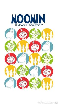 Wallpaper Backgrounds, Iphone Wallpaper, Wallpapers, Little My Moomin, Moomin Wallpaper, Moomin Valley, Tove Jansson, Create And Craft, Marimekko
