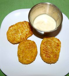 Recipe for Cauliflower Cheese Nuggets for baby/toddlers from Chronicles of a Babywise Mom: Building the Foundation for a Lifetime of Healthy Eating