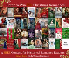 Win 35+ Christmas Historical Romances + $100 Gift Card! http://patriciarice.com/giveaways/historical-romance-christmas-promotion-2015/?lucky=1341