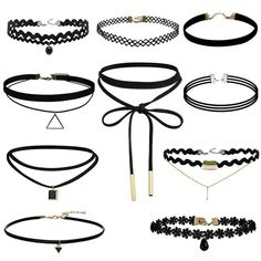 Cheap choker necklace black, Buy Quality black choker necklace directly from China leather necklace Suppliers: Black choker necklace black lace velvet faux suede leather necklace False choker Collar Necklace women collier Bijoux 10 lots Black Velvet Choker Necklace, Lace Necklace, Leather Necklace, Collar Necklace, Choker Necklaces, Necklace Set, Diamond Necklaces, Choker Jewelry, Lace Tattoo