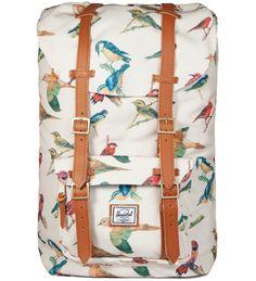 Bird Print Little America Backpack