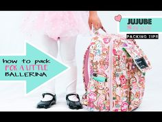 How To Pack A Jujube Mini Be For A Lil Dancer - YouTube