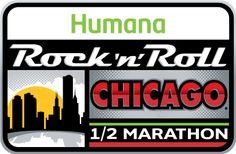 Chicago Rock 'n' Roll Half Marathon & 5K Mini Marathon Race 2015 | July 18 and 19 2015 | do the 5k and Half to win an extra medal!