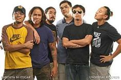 "This is a picture of my favourite Pinoy alternative rock bands, the Parokya ni Edgar. Indeed, they're a very amazing rock band and they're still the ""Pambansang Banda ng Pilipinas. Soul Music, Music Is Life, My Music, Alternative Rock Bands, Karaoke Songs, A Decade, Pinoy, Music Bands, Music Videos"