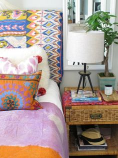 Escape Style: Using Beautiful Fabrics from Around the World at Home | Apartment Therapy