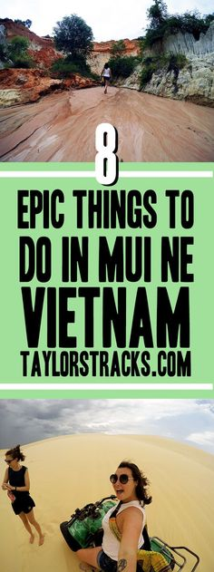 Discover the best things to do in Mui Ne, Vietnam. A perfect along your backpacking trip through Vietnam. ***************************************** ***************************************** Mui Ne Vietnam | Mui Ne beach | Mui Ne sand dunes | Vietnam beaches | Mui Ne things to do | Vietnam travel | Vietnam backpacking | Vietnam destinations | Vietnam cities