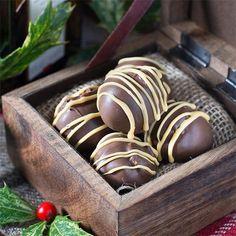 Orange Liqueur Truffles by @charlotteslk - #KeepOnCooking #Dessert #Sweet #GlutenFree #Vegetarian