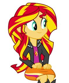 Groovin' Sunset Shimmer by MoHawgo