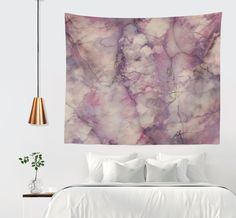 'Mystic Marble' Wall Tapestry @society6 #society6 #decor #wallart