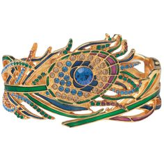 Peacock Feather Cuff - The Met Store