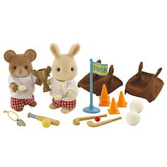 Sylvanian Families School Sports Day Set