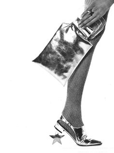 #silver #accessories Photo by David Bailey, 1966.