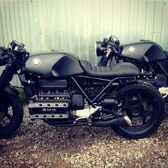 #bmw #custom #k100 #k75 #k1100 #bmwk75 #caferacer #bobber #special #motorrad #motorcycle #motobike ...