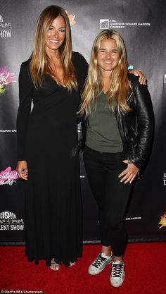 Kelly Bensimon and daughter Sea support kids talent show