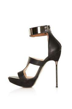 d39af35e3f83 LOLLIPOP Black Leather Heeled Shoes - View All - Shoes Black Leather Heels