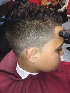 Image result for how to shape curly hair mixed boys