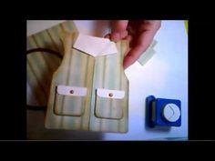 OWH Vest card tutorial.  Can me vest, fishing vest, vegas vest, ladies with a necklace, etc.
