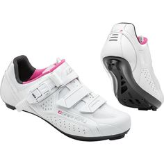 Louis Garneau Women's Cristal Cycling Shoes, Size: 38, White #performancebikecycling