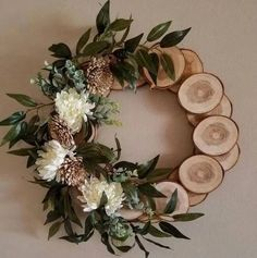 Items similar to Country Wreath Spring wreath cabin wreath wall decor log wreath wreath rustic wreath primitive wreath nature wreath natural wreath on Etsy Holiday Crafts, Christmas Diy, Holiday Decor, Christmas Wall Decorations, Holiday Ideas, Holiday Wreaths, Wedding Decorations, Spring Decorations, Diy Decorations Crafts